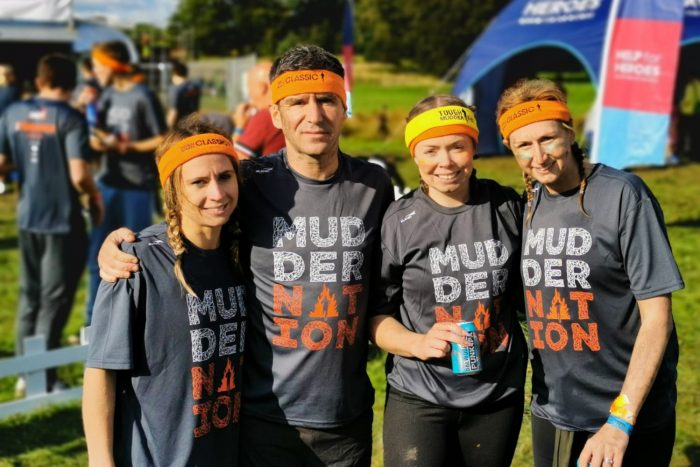Tough Mudder - Exchequer team